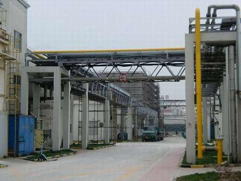 莱芜化工厂安装工程案例